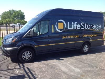 Truck rental available at Life Storage at 485 North Highway Drive in Fenton