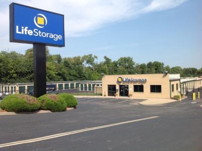 Storage buildings at Life Storage at 1475 Dunn Road in Florissant
