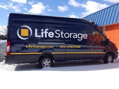 Truck rental available at Life Storage at 3540 Quakerbridge Road in Hamilton Township