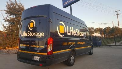 Truck rental available at Life Storage at 2440 W Whitestone Blvd in Cedar Park