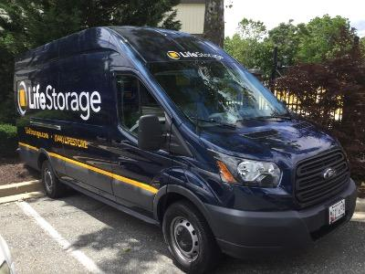 Truck rental available at Life Storage at 26 W Diamond Ave in Gaithersburg