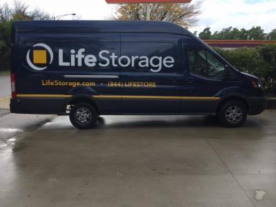 Truck rental available at Life Storage at 5860 N. Pulaski Road in Chicago