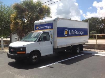 Truck rental available at Life Storage at 6800 N. Military Trail in West Palm Beach