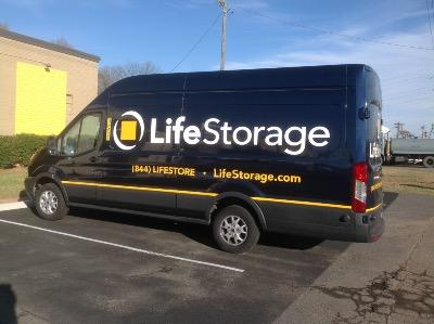 Truck rental available at Life Storage at 5800 A Brookshire Blvd in Charlotte