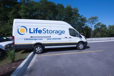 Truck rental available at Life Storage at 1414 N Rand Rd in Arlington Heights