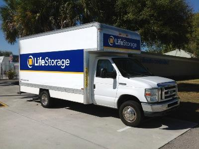 Truck rental available at Life Storage at 420 NW Peacock Blvd in Port Saint Lucie