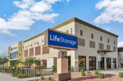 Storage buildings at Life Storage at 900 N 48th St in Phoenix