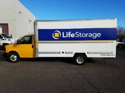 Truck rental available at Life Storage at 900 N 48th St in Phoenix