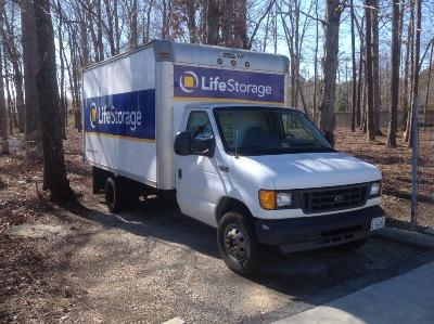 Truck rental available at Life Storage at 10429 Jefferson Avenue in Newport News