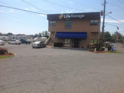 Life Storage Buildings at 195 E Fairfield Dr in Pensacola