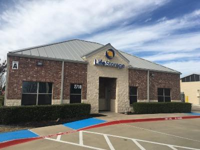 Life Storage Buildings at 2710 Denton Tap Rd in Lewisville