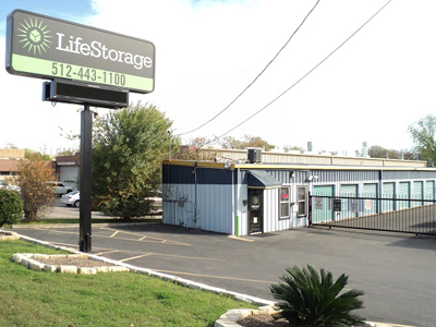 Life Storage Buildings at 4515 S. Congress Ave. in Austin