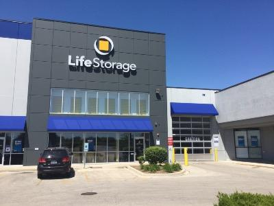 Storage buildings at Life Storage at 1650 N. Randall Rd. in Aurora
