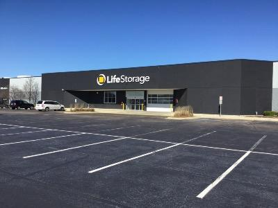 Storage buildings at Life Storage at 450 Airport Rd in Elgin
