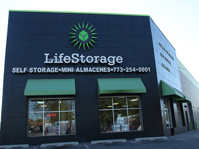 Life Storage Buildings at 3245 W 30th St in Chicago