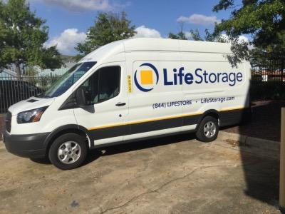 Truck rental available at Life Storage at 6457 General Green Way in Alexandria
