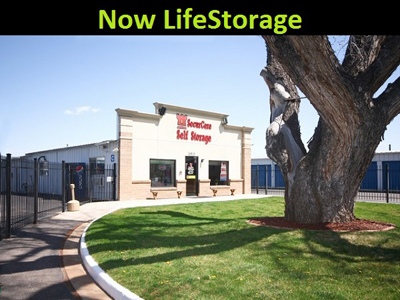 Life Storage Buildings at 5815 Arapahoe Ave. in Boulder