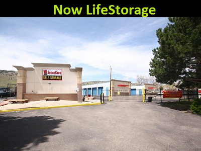 Life Storage Buildings at 4545 Broadway St in Boulder