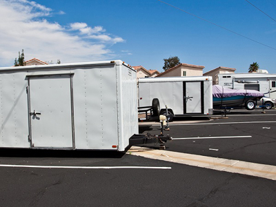 Truck rental available at Life Storage at 9930 Spencer St. in Las Vegas