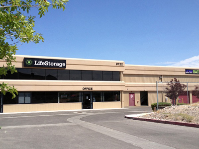 Life Storage Buildings at 9722 W Maule Ave in Las Vegas