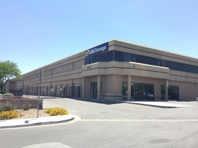 Storage buildings at Life Storage at 5555 S Fort Apache Rd in Las Vegas