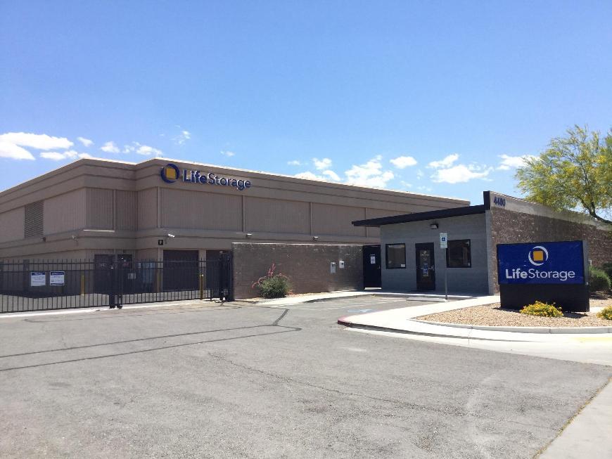 Storage Buildings At Life 4480 Berg St In North Las Vegas