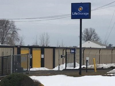 Storage buildings at Life Storage at 1395 South Street in Suffield