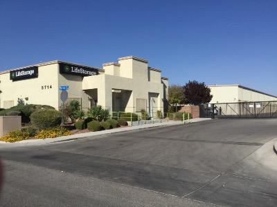 Life Storage Buildings at 5714 Ferrell St. in North Las Vegas