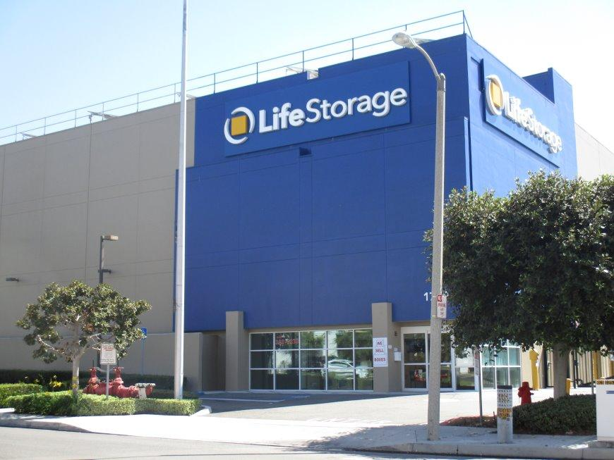 Storage Buildings At Life Storage At 17392 Murphy Ave In Irvine ...