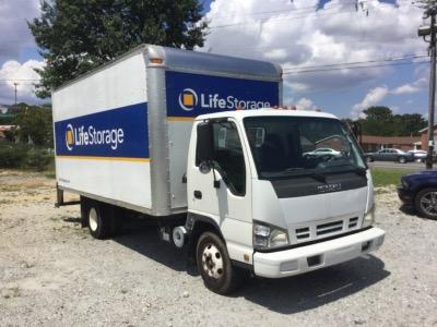 Truck rental available at Life Storage at 5725 Old National Hwy in College Park