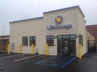 Storage buildings at Life Storage at 1213 E Brambleton Ave in Norfolk