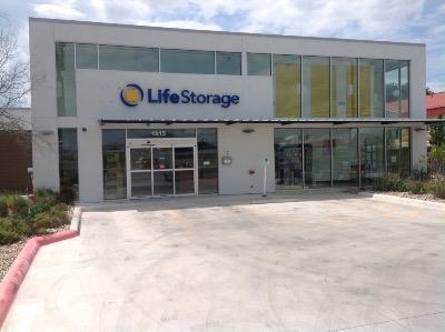 Storage buildings at Life Storage at 1615 N IH 35 in San Marcos