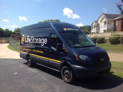 Truck rental available at Life Storage at 2895 Vaughn Plaza Road in Montgomery