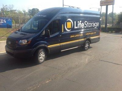 Truck rental available at Life Storage at 801 East Nine Mile Road in Pensacola