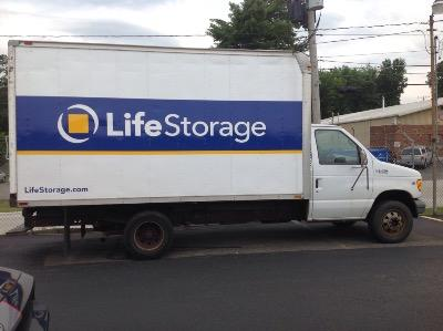 Truck rental available at Life Storage at 3690 Leharps Dr in Austintown