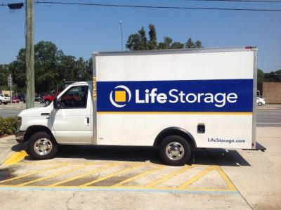 Truck rental available at Life Storage at 1792 W Hillsborough Ave in Tampa