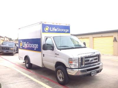 Truck rental available at Life Storage at 7550 Culebra Rd in San Antonio
