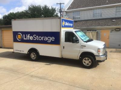 Truck rental available at Life Storage at 5720 Milton St in Dallas