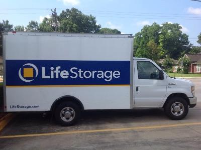 Truck rental available at Life Storage at 8726 Long Point Rd in Houston
