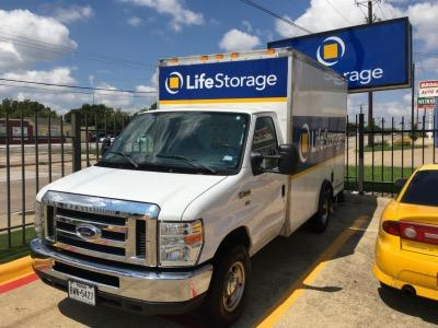 Truck rental available at Life Storage at 4114 Broadway Blvd in Garland