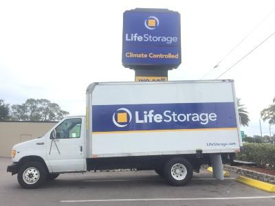 Truck rental available at Life Storage at 404 Seminole Blvd in Largo