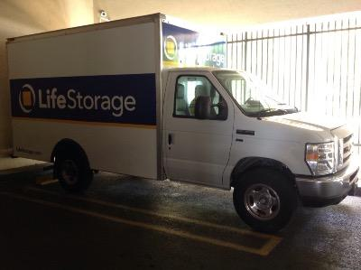 Truck rental available at Life Storage at 2450 SW 28th Ln in Miami