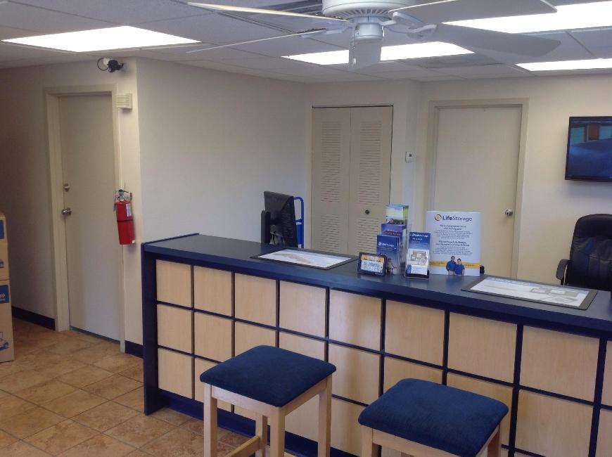 Life storage office at 1844 n belcher rd in clearwater office furniture rental clearwater fl Home furniture rental tampa