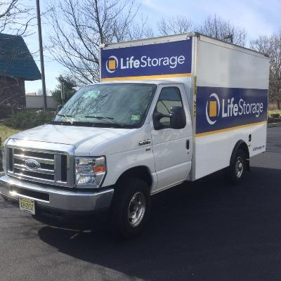 Truck rental available at Life Storage at 4019 Rt. 130 in Delran