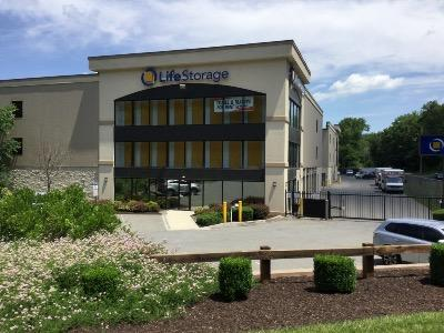 Storage buildings at Life Storage at 104 Joel Street in E Stroudsburg