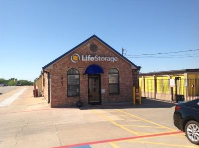 Storage buildings at Life Storage at 1401 Blue Danube in Arlington