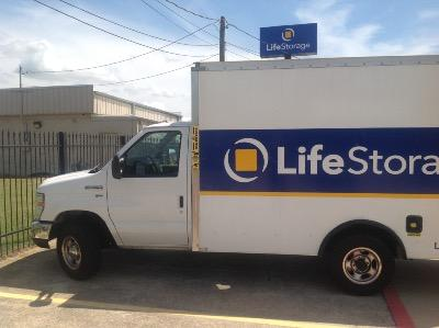 Truck rental available at Life Storage at 1401 Blue Danube in Arlington