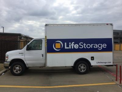 Truck rental available at Life Storage at 1620 E Lamar Blvd in Arlington