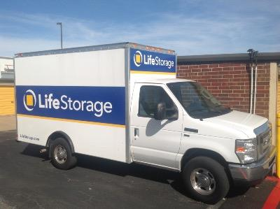 Truck rental available at Life Storage at 6162 Southwest Blvd in Benbrook
