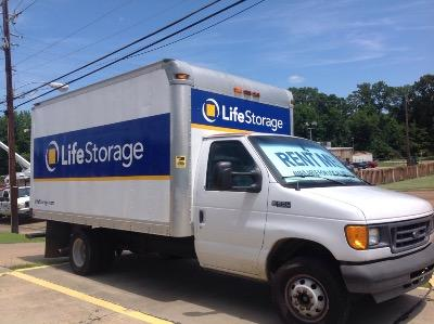 Truck rental available at Life Storage at 2947 McDowell Road Ext in Jackson